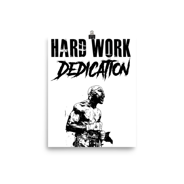 Floyd mayweather hard work dedication poster brawl bros thecheapjerseys Choice Image