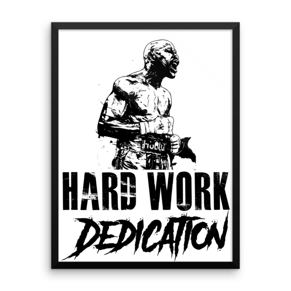 Hard work dedication floyd mayweather jr quote framed poster hard work dedication floyd mayweather jr quote framed poster altavistaventures Image collections